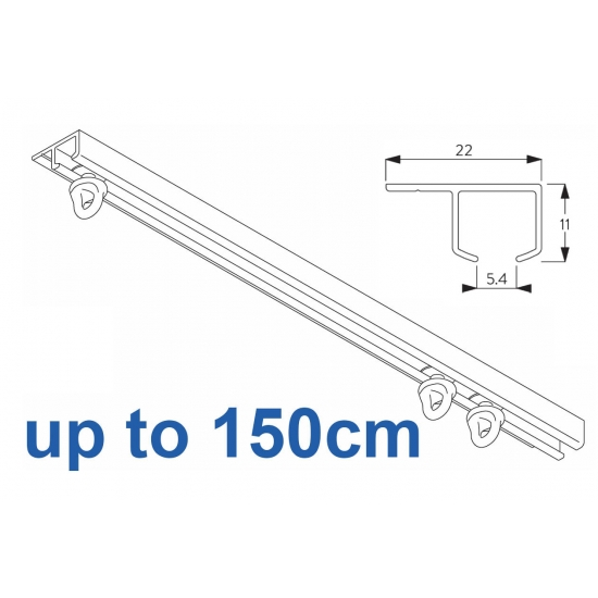 6290 Safety Track, up to  150cm Complete