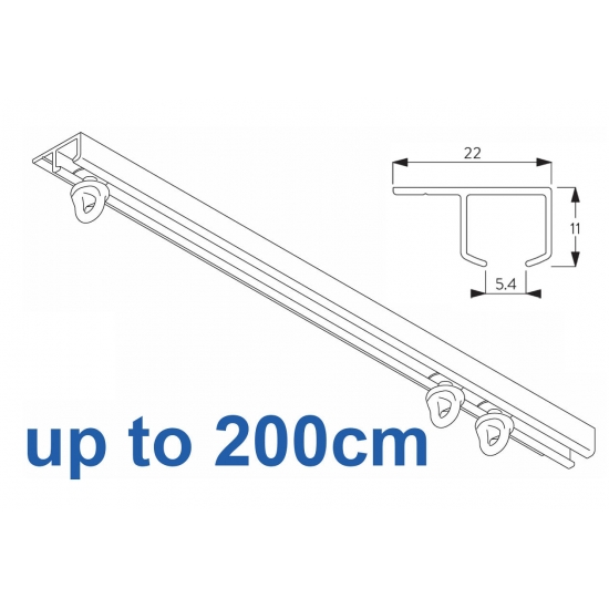 6290 Safety Track  200cm Complete
