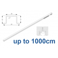 6465 & 6465 Wave Hand Operated, recess systems (White only) up to 1000cm Complete