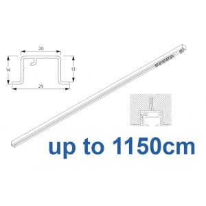 6465 & 6465 Wave Hand Operated, recess systems (White only) up to 1150cm Complete