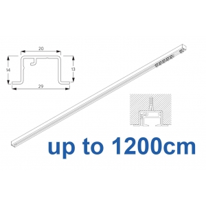 6465 & 6465 Wave Hand Operated, recess systems (White only) up to 1200cm Complete
