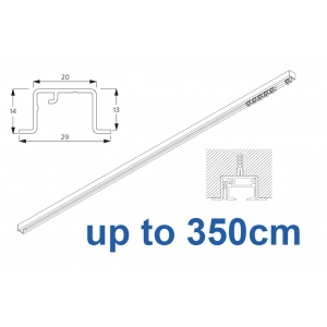 6465 & 6465 Wave Hand Operated, recess systems (White only) up to 350cm Complete