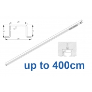 6465 & 6465 Wave Hand Operated, recess systems (White only) up to 400cm Complete
