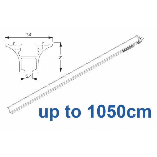 6820 Hand operated & 6820 Wave hand operated (White only) up to 1050cm Complete