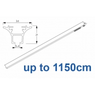 6820 Hand operated & 6820 Wave hand operated (White only) up to 1150cm Complete