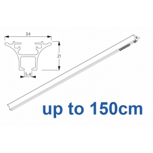 6820 Hand operated & 6820 Wave hand operated (White only) up to 150cm Complete