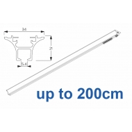 6820 Hand operated & 6820 Wave hand operated (White only) up to 200cm Complete