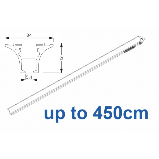 6820 Hand operated & 6820 Wave hand operated (White only) up to 450cm Complete