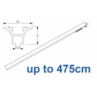 6820 Hand operated & 6820 Wave hand operated (White only) up to 475cm Complete