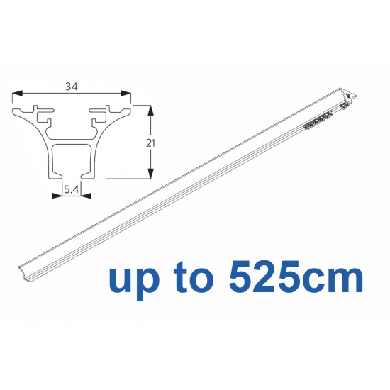 6820 Hand operated & 6820 Wave hand operated (White only) up to 525cm Complete