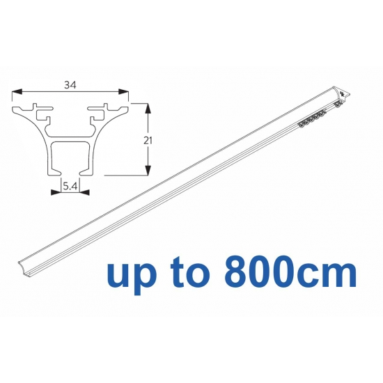 6820 Hand operated & 6820 Wave hand operated (White only) up to 800cm Complete