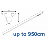 6820 Hand operated & 6820 Wave hand operated (White only) up to 950cm Complete