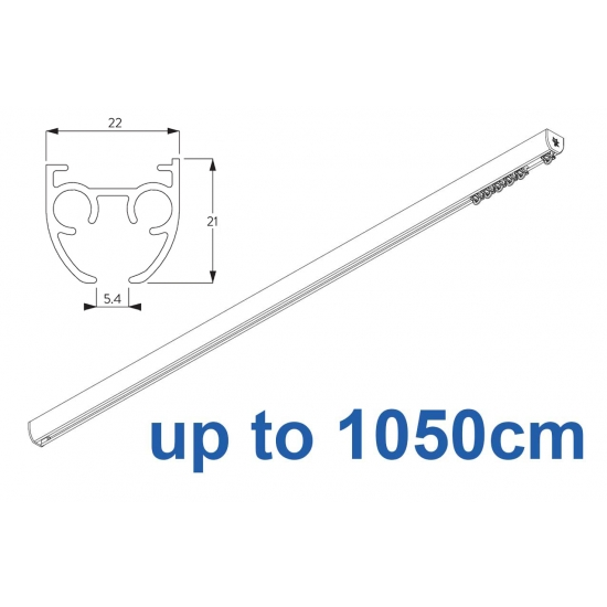 6840 & 6840 Wave (previously known as 3840) Hand operated Silver or White 1050cm Complete