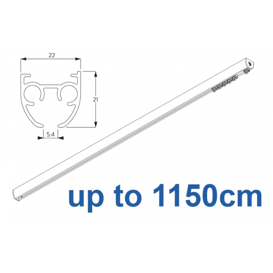 6840 & 6840 Wave (previously known as 3840) Hand operated Silver or White 1150cm Complete