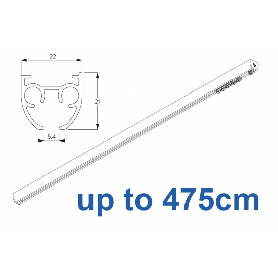 6840 & 6840 Wave (previously known as 3840) Hand operated Silver or White 475cm Complete