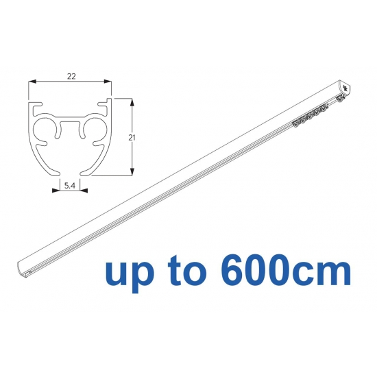 6840 & 6840 Wave (previously known as 3840) Hand operated Silver or White 600cm Complete