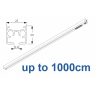 6870 & 6870 Wave Hand operated Silver or White, up to 1000cm Complete