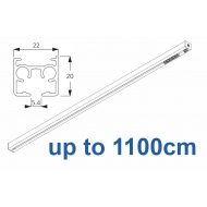 6870 & 6870 Wave Hand operated Silver or White, up to 1100cm Complete