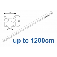 6870 & 6870 Wave Hand operated Silver or White, up to 1200cm Complete