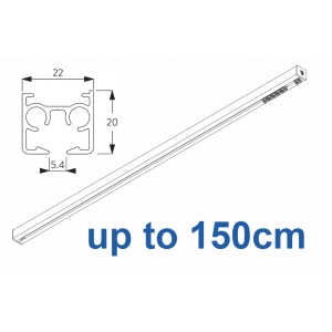 6870 & 6870 Wave Hand operated Silver or White, up to 150cm Complete