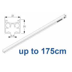 6870 & 6870 Wave Hand operated Silver or White, up to 175cm Complete
