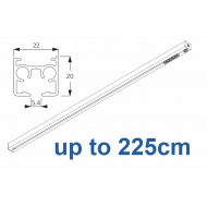 6870 & 6870 Wave Hand operated Silver or White, up to 225cm Complete
