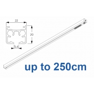 6870 & 6870 Wave Hand operated Silver or White, up to  250cm Complete