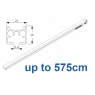 6870 & 6870 Wave Hand operated Silver or White, up to 575cm Complete