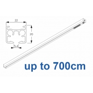 6870 & 6870 Wave Hand operated Silver or White, up to 700cm Complete