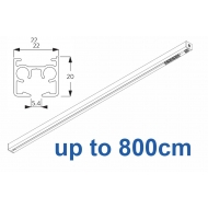 6870 & 6870 Wave Hand operated Silver or White, up to 800cm Complete
