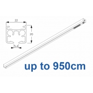 6870 & 6870 Wave Hand operated Silver or White, up to 950cm Complete