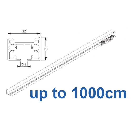 6970 & 6970 Wave Hand operated Silver or White 1000cm Complete