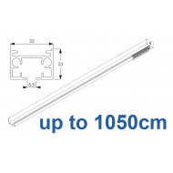 6970 & 6970 Wave Hand operated Silver or White, up to 1050cm Complete