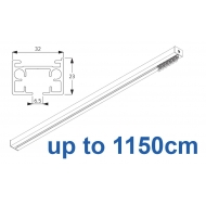 6970 & 6970 Wave Hand operated Silver or White, up to 1150cm Complete