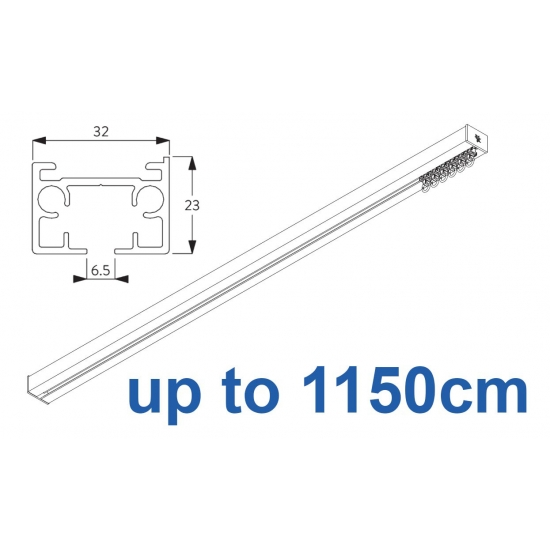 6970 & 6970 Wave Hand operated Silver or White 1150cm Complete