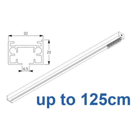 6970 & 6970 Wave Hand operated Silver or White, up to 125cm Complete