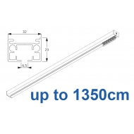 6970 & 6970 Wave Hand operated Silver or White, up to 1350cm Complete