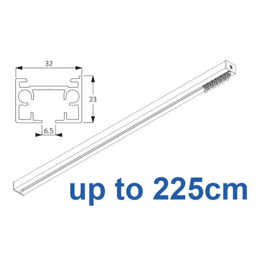 6970 & 6970 Wave Hand operated Silver or White 225cm Complete