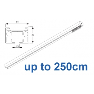 6970 & 6970 Wave Hand operated Silver or White, up to  250cm Complete