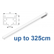 6970 & 6970 Wave Hand operated Silver or White, up to 325cm Complete