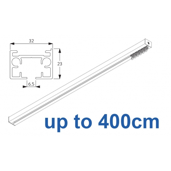 6970 & 6970 Wave Hand operated Silver or White 400cm Complete