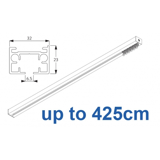 6970 & 6970 Wave Hand operated Silver or White 425cm Complete