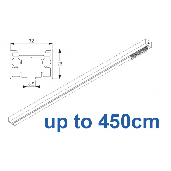 6970 & 6970 Wave Hand operated Silver or White 450cm Complete