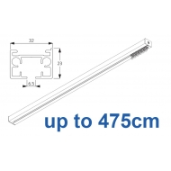 6970 & 6970 Wave Hand operated Silver or White, up to 475cm Complete