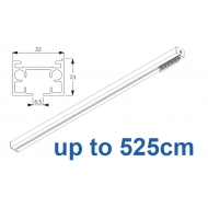 6970 & 6970 Wave Hand operated Silver or White, up to 525cm Complete