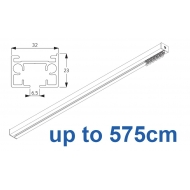6970 & 6970 Wave Hand operated Silver or White, up to 575cm Complete