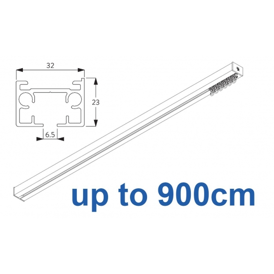 6970 & 6970 Wave Hand operated Silver or White 900cm Complete