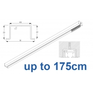 6970 & 6970 Wave Hand Operated, recess systems (White only) up to 175cm Complete