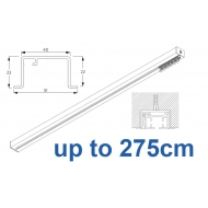 6970 & 6970 Wave Hand Operated, recess systems (White only) up to 275cm Complete