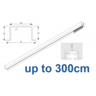 6970 & 6970 Wave Hand Operated, recess systems (White only) up to 300cm Complete